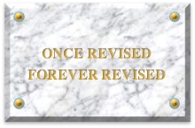 once revised